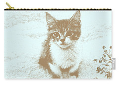 I Miss You Carry-all Pouch by Teresa Zieba