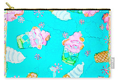Ice Cream I Scream Carry-all Pouch