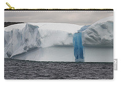 Carry-all Pouch featuring the photograph Iceberg by Eunice Gibb