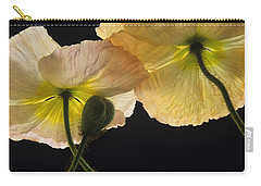 Iceland Poppies 2 Carry-all Pouch by Susan Rovira