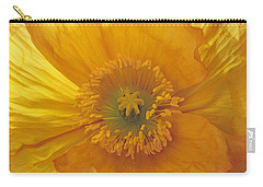 Carry-all Pouch featuring the photograph Iceland Poppy 4 by Susan Rovira