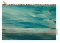 Carry-all Pouch featuring the photograph Icelandic Sky by Michael Canning