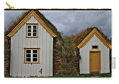 Icelandic Turf Houses Carry-all Pouch
