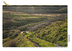 Icy Track Carry-all Pouch by Clare Bambers