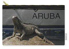 Carry-all Pouch featuring the photograph Iguana by David Gleeson