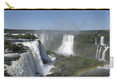 Carry-all Pouch featuring the photograph Iguazu Falls by David Gleeson