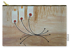 Carry-all Pouch featuring the painting Illumination by Sonali Gangane