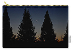 Carry-all Pouch featuring the photograph Impending Sunrise by Penny Meyers
