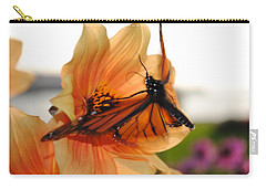 Carry-all Pouch featuring the photograph In Flight... by Michael Frank Jr