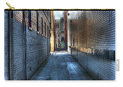 In The Alley Carry-all Pouch by Dan Stone