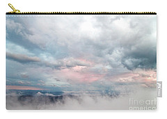 Carry-all Pouch featuring the photograph In The Clouds by Jeannette Hunt