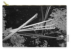 Carry-all Pouch featuring the photograph In The Pond Asian Influence by Kathleen Grace