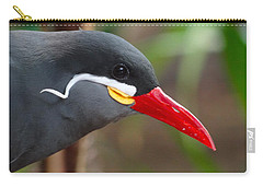 Carry-all Pouch featuring the photograph Inca Tern by Julia Wilcox