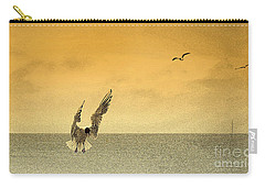 Incoming Carry-all Pouch by Linsey Williams