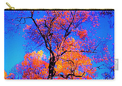 Indian Summer Autumn Scene  Carry-all Pouch