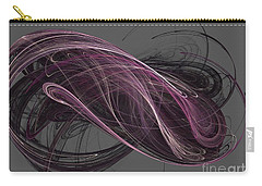 Carry-all Pouch featuring the digital art Infinity by Kim Sy Ok