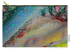 Carry-all Pouch featuring the digital art Inner Peace by Richard Laeton