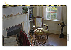 Carry-all Pouch featuring the photograph Inside Yaquina Bay Lighthouse by Mick Anderson