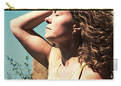 Into The Sun Carry-all Pouch