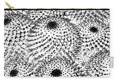 Carry-all Pouch featuring the photograph Invisible Cactus by Rebecca Margraf