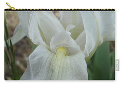 Carry-all Pouch featuring the photograph Iris Angel by Kerri Mortenson
