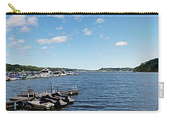 Carry-all Pouch featuring the photograph Irondequoit Bay Panorama by William Norton