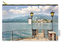 Island San Giulio On Lake Orta Carry-all Pouch