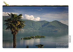 Islands On An Alpine Lake Carry-all Pouch