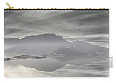 Carry-all Pouch featuring the digital art Isle Of Serenity by Phil Perkins