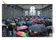 Carry-all Pouch featuring the photograph It Rains by Vivian Christopher