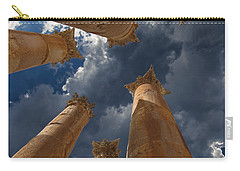 Carry-all Pouch featuring the photograph Jerash by David Gleeson