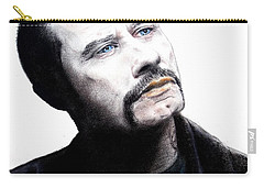 John Travolta In The Taking Of Pelham 123  Carry-all Pouch by Jim Fitzpatrick