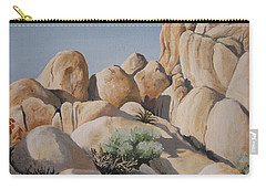 Joshua Tree 1 Carry-all Pouch by Barbara Prestridge