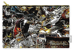 Carry-all Pouch featuring the photograph Junky Treasure 2 by Lydia Holly