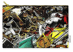 Carry-all Pouch featuring the photograph Junky Treasure by Lydia Holly