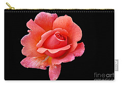Carry-all Pouch featuring the photograph Just Peachy by Cindy Manero
