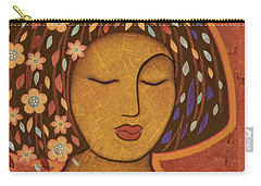 Carry-all Pouch featuring the painting Kali by Gloria Rothrock