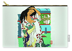 Kanojo No Nyuyoku-go Carry-all Pouch by Roberto Prusso