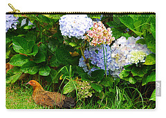 Carry-all Pouch featuring the photograph Kauai Wildlife by Lynn Bauer