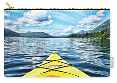 Kayaking In Bc Carry-all Pouch