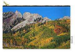 Carry-all Pouch featuring the photograph Kebler Pass by Jim Garrison