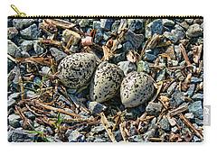 Killdeer Bird Eggs Carry-all Pouch