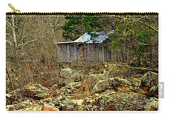Carry-all Pouch featuring the photograph Klepzig Mill by Marty Koch