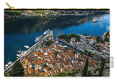 Carry-all Pouch featuring the photograph Kotor Montenegro by David Gleeson