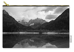 Kranjska Gora In Black And White Carry-all Pouch