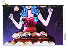 Carry-all Pouch featuring the photograph Lady In Flowers by Alice Gipson