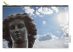 Carry-all Pouch featuring the photograph Lady Of The Waters by Sarah McKoy