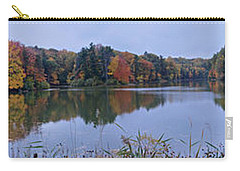 Carry-all Pouch featuring the photograph Lake Eastman by William Norton