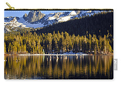 Carry-all Pouch featuring the photograph Lake Mary Reflections by Lynn Bauer