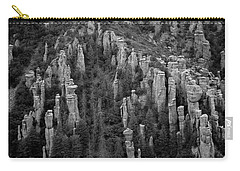 Carry-all Pouch featuring the photograph Land Of Standing Up Rock  by Vicki Pelham